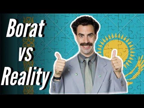 Borat's Kazakhstan vs Real Kazakhstan