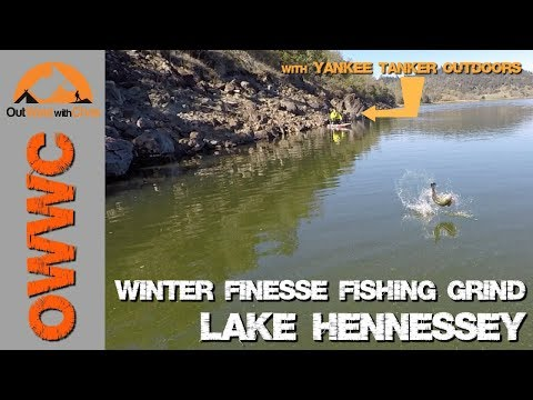 Lake Hennessey - Another Winter Finesse Fishing Grind
