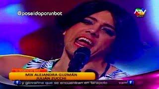 COMBATE: Julian Zucchi Canto como Alejandra Guzman en Desafio 15/10/13