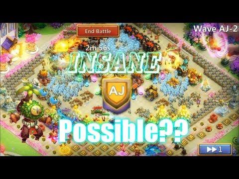 HBM AJ LOOK INSANE! &Rolling 39K For New Hero Plant Warrior  - Castle Clash
