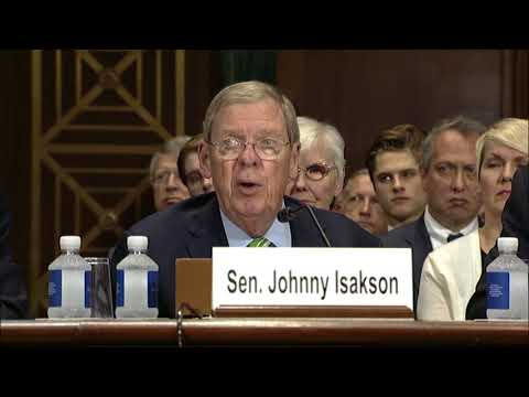 Isakson, Perdue Applaud Senate Confirmation of Judge Billy