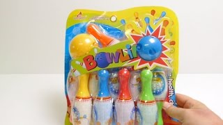 Bowling Toy Set for Children & Kids