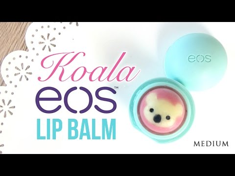 diy-eos-lip-balm-koala!---no-crayons,-beeswax-or-clingfilm-required-with-this-easy-method