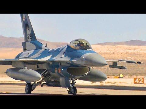 F-16C Aggressor, FGR-4 Typhoon, F-16CM & F-16 in Red Flag 15-1