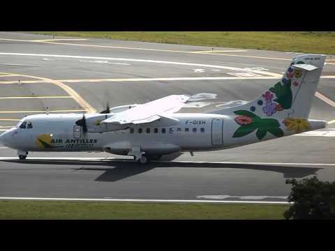 BEAUTIFUL ATR-42 OF AIR ANTILLES EXPRESS IN SAN JUAN