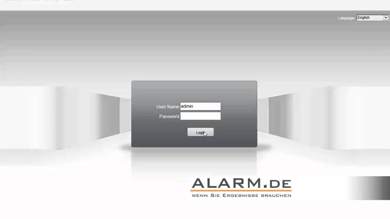 ip kamera einrichten netzwerkkamera einrichtung hd. Black Bedroom Furniture Sets. Home Design Ideas