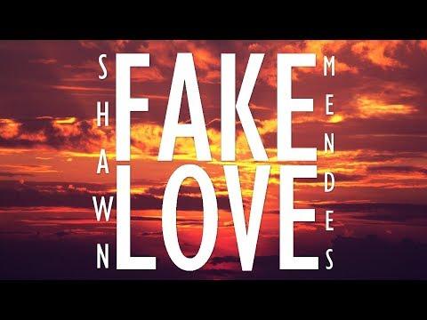 Fake Love - Shawn Mendes (Lyrics Music Video)