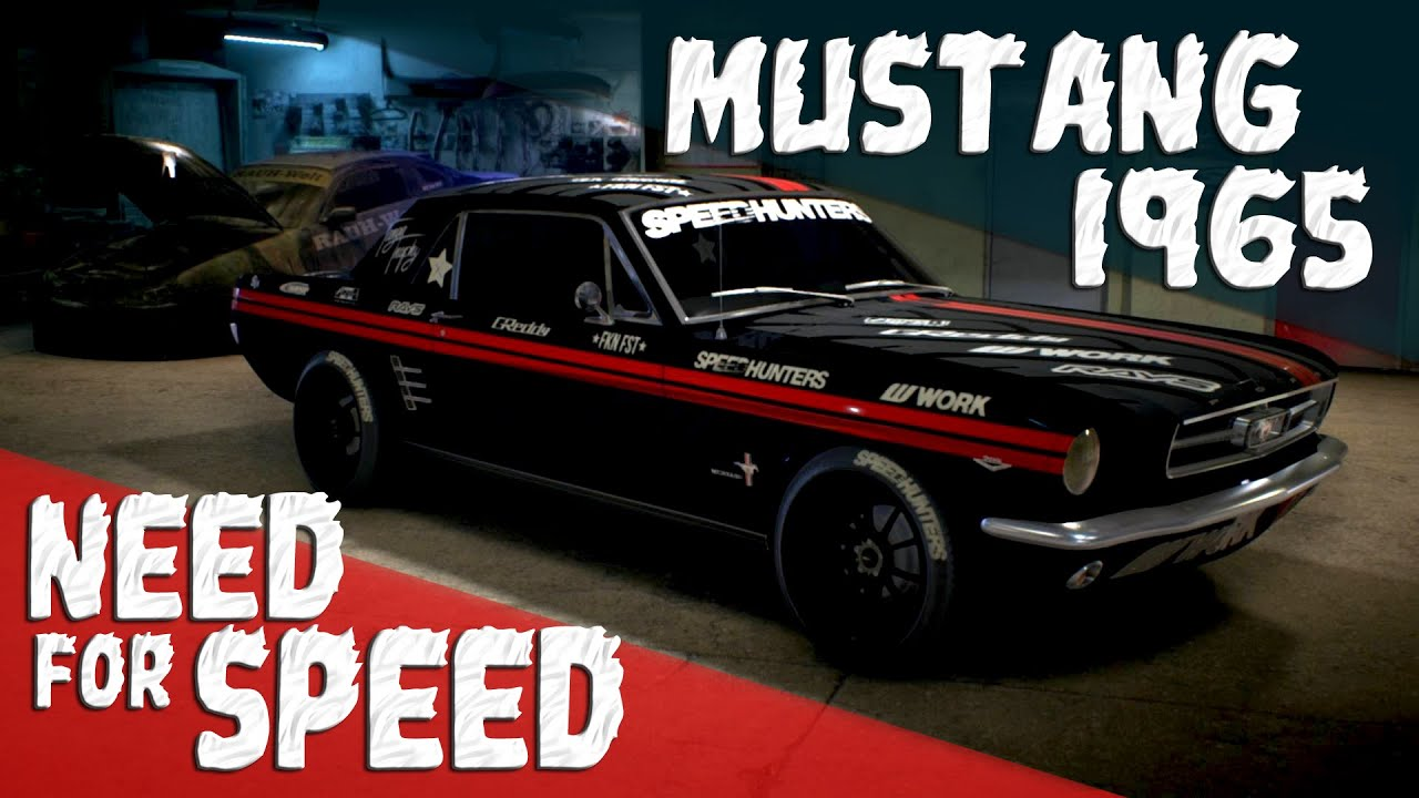 need for speed 2015 ps4 ford mustang 1965 customization. Black Bedroom Furniture Sets. Home Design Ideas