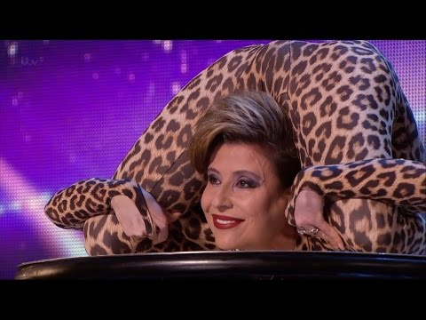 Britain\'s Got Talent 2015 S09E01 Freaky Contortionist Magdalena Full Video