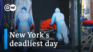 Coronavirus: US accused of hijacking shipments of masks | DW News
