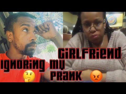 Ignoring girlfriend prank she cries