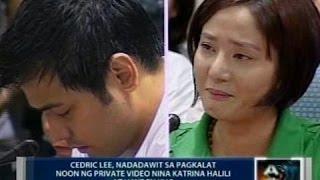 Saksi: Cedric Lee, nadadawit sa pagkalat noon ng private video nina Katrina Halili at Hayden Kho