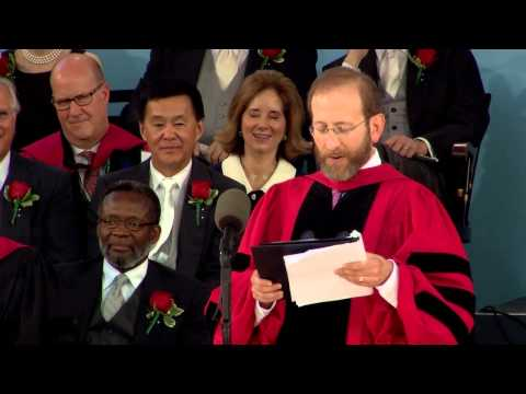 Conferring of Honorary Degrees | Harvard Commencement 2015