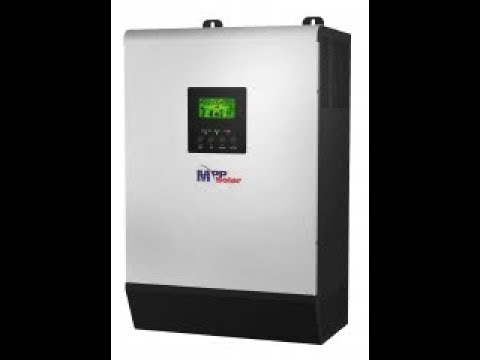 SOLAR HYBRID AND OFF GRID INVERTER - PIP 2424HSE