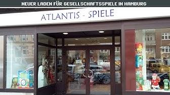 Atlantis-Spiele: Heute Ladeneröffnung in Hamburg-Barmbek