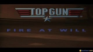 Top Gun Fire at Will gameplay (PC Game, 1996)