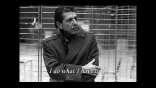 Leonard Cohen - In My Secret Life - With Lyrics.