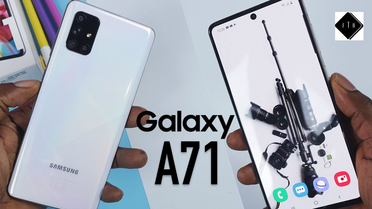 Samsung Galaxy A71 Unboxing and Review, Best Mid-Range phone?