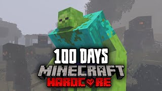 I Survived 100 Days in a Minecraft Nuclear Winter... Here's What Happened