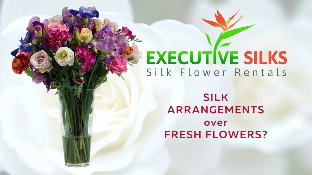 Executive silks silk flower rentals youtube executive silks silk flower rentals mightylinksfo