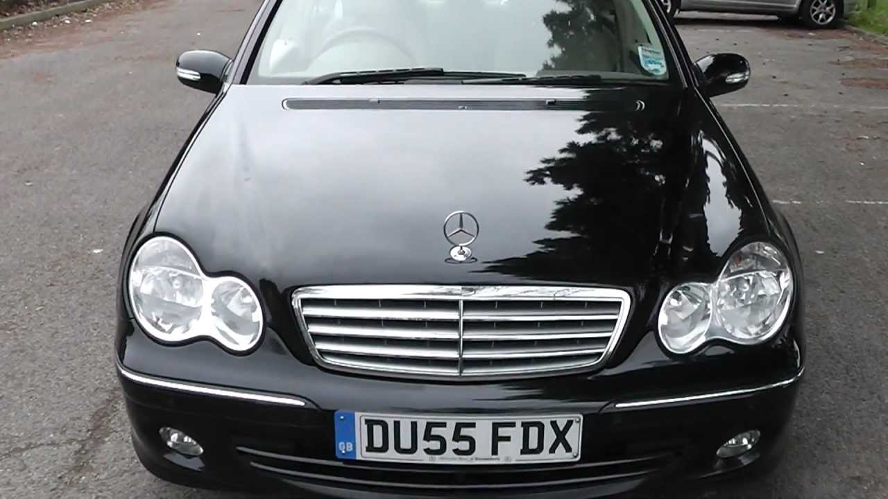 Mercedes c320cdi elegance se 2005 full leather promotors co uk 5 995 mts