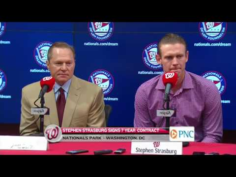 Stephen Strasburg press conference Part 1