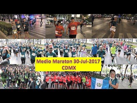 MEDIO MARATON BANORTE CDMX 2017