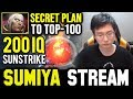 "SUMIYA ""Secret"" Plan for Road to Top-100 | Sumiya Invoker Stream Moment #687"