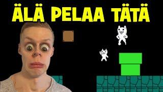 ÄLÄ PELAA TÄTÄ PELIÄ!!   Cat Mario #2 (Face cam)