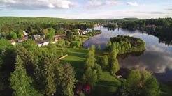 St-Alexis-des-Monts, Quebec, Canada, drone footage 4K