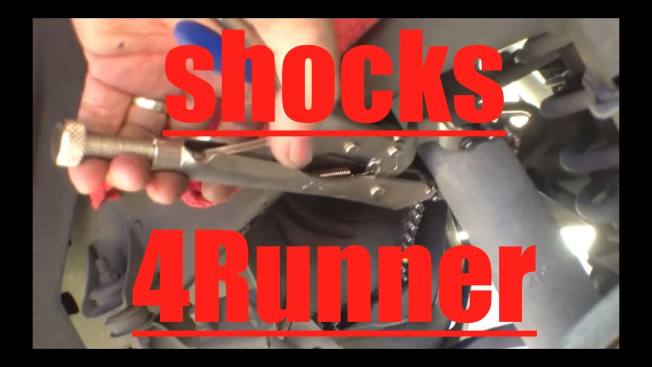 Tacoma Rear Differential Diagram Best Rear Shock Replacement Toyota 4runner Youtube