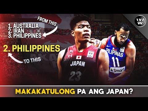 Makakatulong pa ang Japan sa Team Pilipinas?  Scenario where PH will be 2
