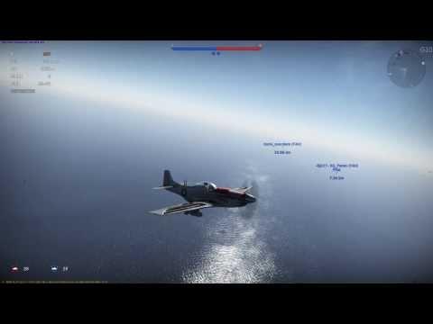 War Thunder - 1.35 HB P-51 Mustang Pacific kill