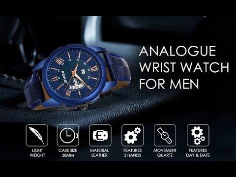 Redux Blue Dial Analog Watch For Men RWS0216S II Under 300 🔥🔥🔥