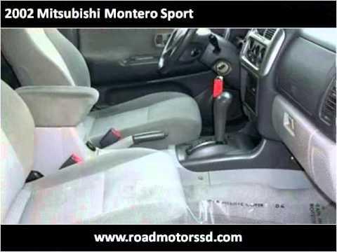 2002 Mitsubishi Montero Sport Used Cars San Diego CA