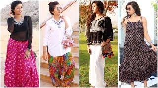 Ethnic Lookbook I Indo-Western Fusion I Vintage Jewelry I Boho Inspired I Festive Outfit Ideas