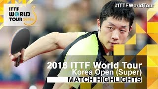 2016 Korea Open Highlights: Ma Long vs X...