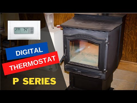How To Wire A Digital Thermostat On Harman Pellet Stove Youtube