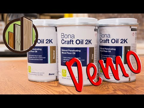New Bona 2K Craft Oil Finish Demo at City Floor Supply