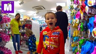 VLOG стрижка в детской парикмахерской покупаем кроксы haircut in child barbershop buy Crocs(Макс посетит свою любимую парикмахерскую