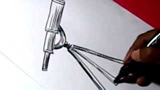 How to draw TELESCOPE DRAWING for kids step by step