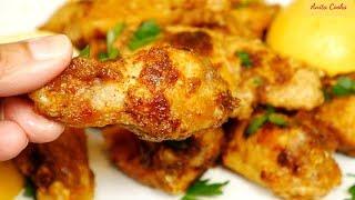 Crispy Lemon Pepper Wings Recipe