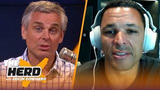 Tony Gonzalez loves Patrick Mahomes' new contract, talks Lamar, Cam Newton & Watson | NFL | THE HERD