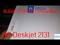HP Deskjet 2131 All-In-One Printer Unboxing and Review in Hindi.