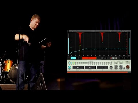 Eliminate Mic Feedback From PA And Stage Monitors With X-FDBK