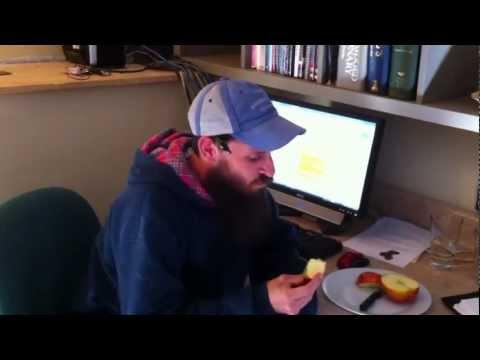 Candid Jonagold Apple Taste Test