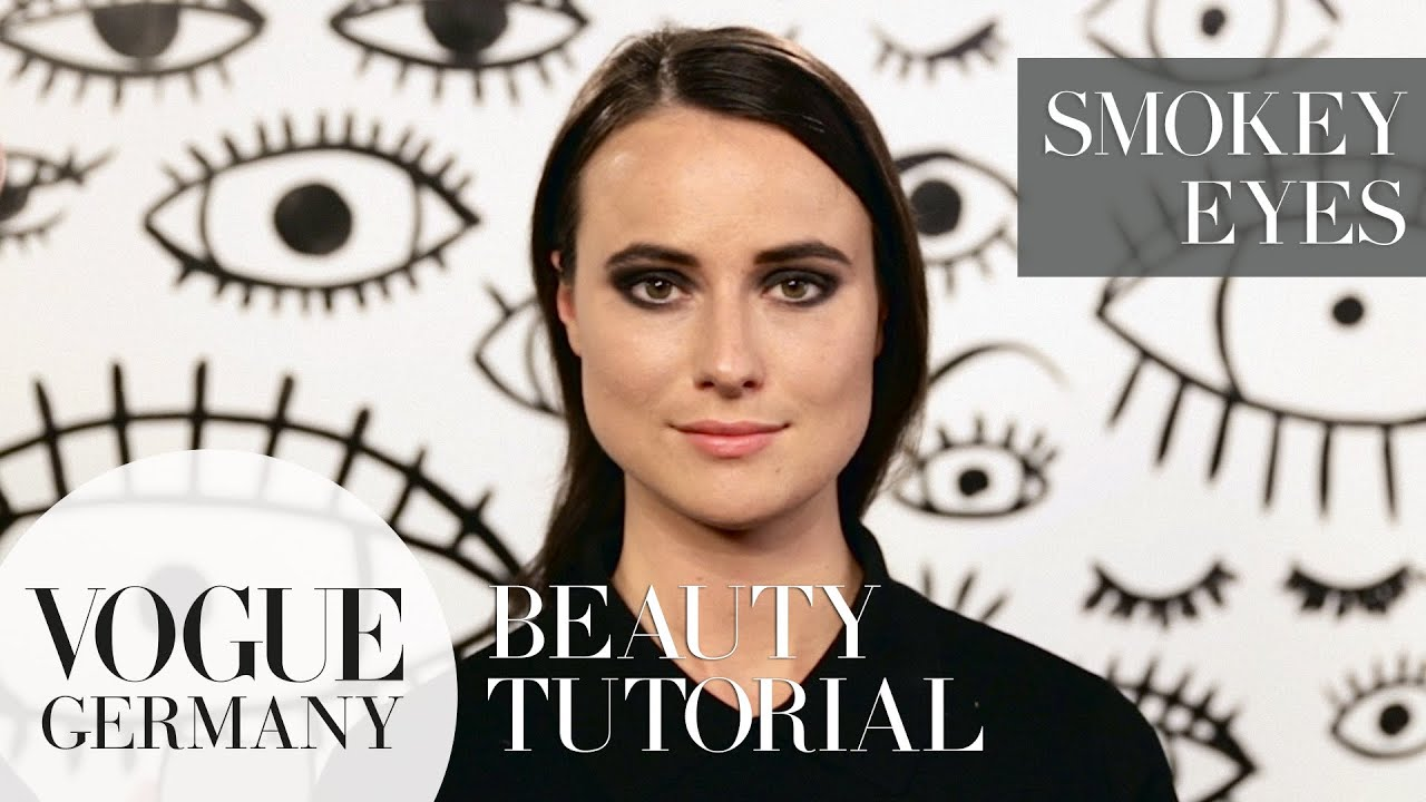 Dramatic Smokey Eyes how-to | VOGUE Beauty Tutorial