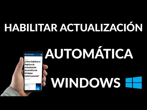 Cómo Habilitar el Registro de Actualización Automática de Windows