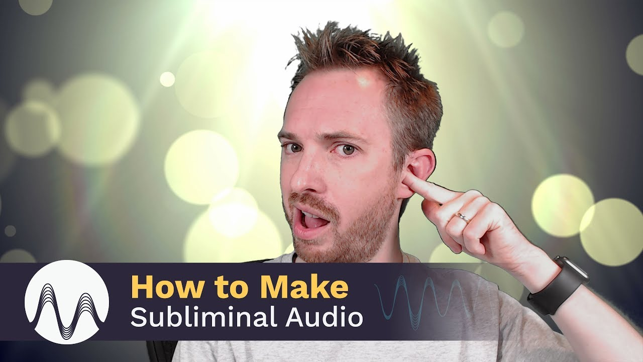 How to Make Subliminal Audio - YouTube