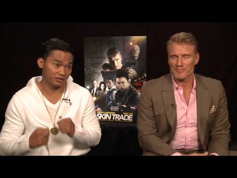 Skin Trade: Tony Jaa and Dolph Lundgren Exclusive Interview